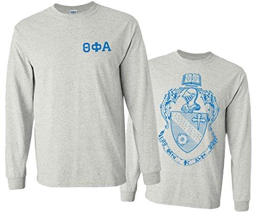 Theta Phi Alpha World Famous Crest Long Sleeve T-Shirt - $15! - Large