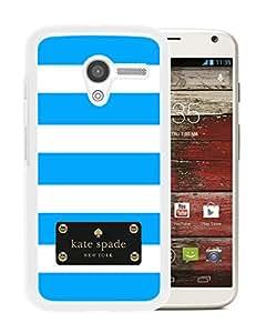Kate Spade Cover Case For Motorola Moto X White Phone Case 121