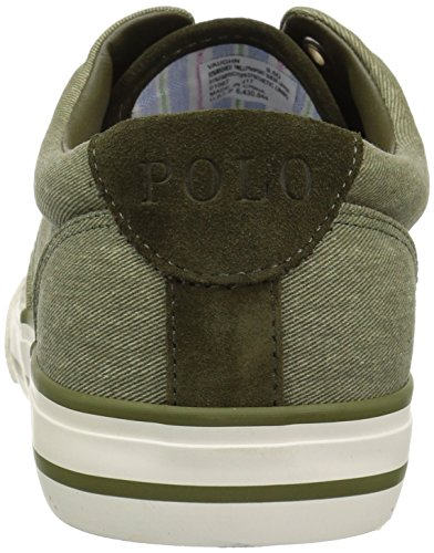 Lauren Men's Vaughn Polo Green Ralph Sneaker x6pqSvBw7
