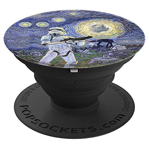 Starry Starry Stormtrooper - PopSockets Grip and Stand for Phones and Tablets