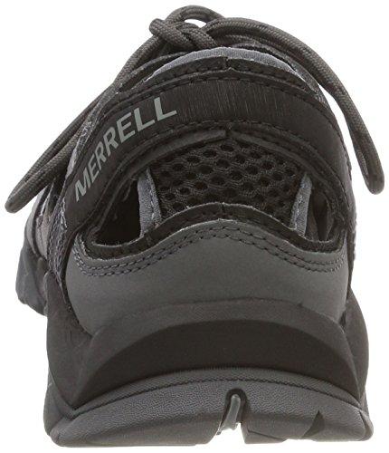 Crest Merrell Femme Wrap Sports de Tetrex Aquatiques Noir Noir Chaussures R55Zq