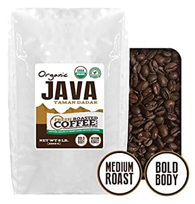 Java Taman Dadar Organic Coffee, Whole Bean, Fresh Roasted Coffee LLC.