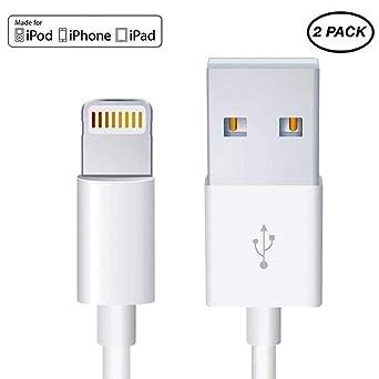 Amazon.com: Apple - Cable de carga y cargador para iPhone y ...