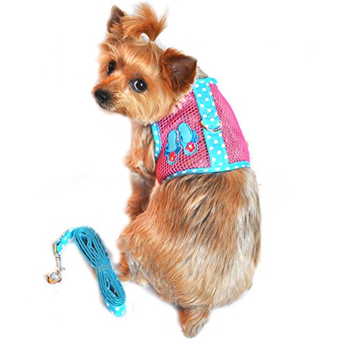 Cool Mesh Dog Harness Under the Sea Collection - Flip Flop P