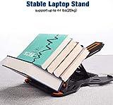 Besign Adjustable Laptop Stand, Ergonomic Riser