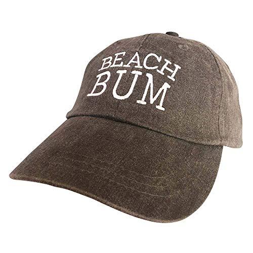 Island Jay Beach Bum Hat Black