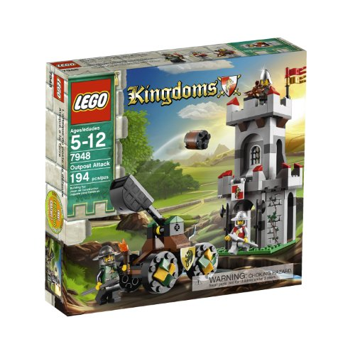 LEGO Kingdoms Outpost Attack 7948 (Lego Medieval Sets)