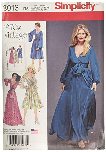Simplicity Creative Patterns US8013R5 Simplicity Patterns Misses