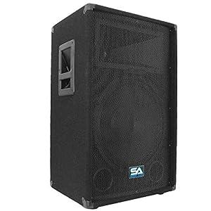 seismic audio 15 inch pa dj speaker 350 watts pro audio mains monitors bands. Black Bedroom Furniture Sets. Home Design Ideas