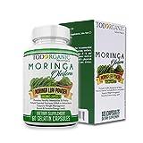 Extracto de Moringa, Suplemento 100% Natural & Organic, Depurador Del Organismo