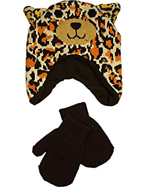 Baby Boys Hat and Mitten Set