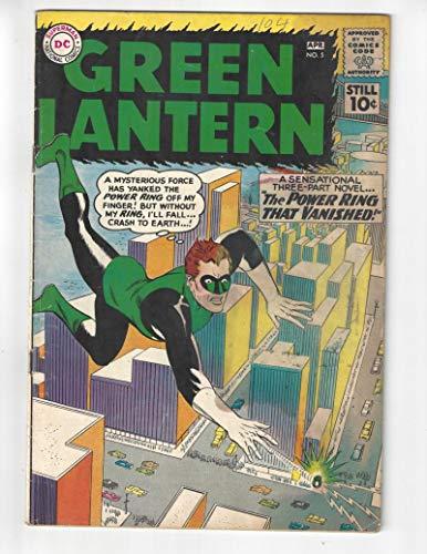 Green Lantern #5/Silver Age DC Comic Book/1st Hector -