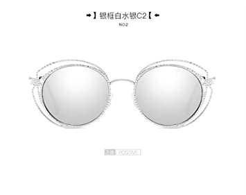 JUNHONGZHANG Gafas De Sol De Personalidad Multi-Capa ...