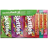 SKITTLES & STARBURST Candy Full Size Variety Mix 18 Pieces