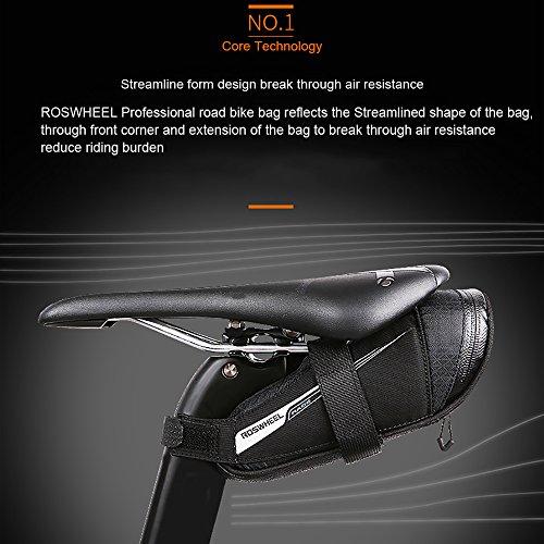 Roswheel Professional Road Bike Bag Bike Saddle Bag Bicycle Seat Storage Bags by Roswheel (Image #2)