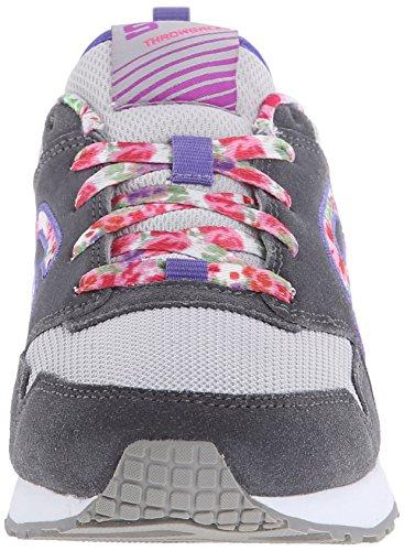 Skechers Retrospect Floral Fancies - Zapatillas de deporte infantiles Gris
