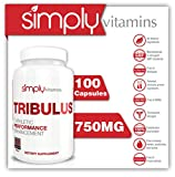 Simply-Vitamins-Tribulus-Terrestris-750-mg-100-capsules-All-Natural-Ayurvedic-Herbal-Supplement-for-Stimulating-Testosterone-Production-Increases-Strength-and-Weight-Lifting-Ability-Promotes-Muscle-Gr