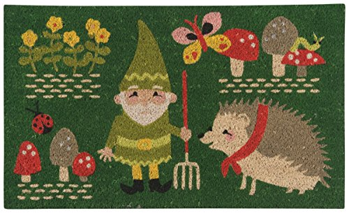 Now Designs Doormat, Gnome Sweet (Gnome Door)