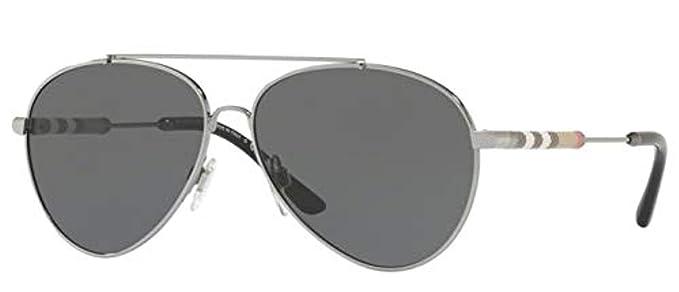 Amazon.com: anteojos de sol Burberry BE 3092 QF 12437j Oro ...