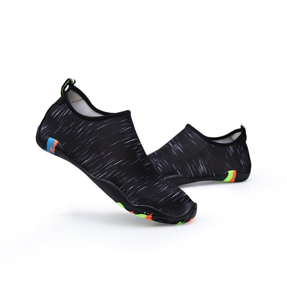 Zapatos de agua para hombre Playa para nadar para mujeres Zapatos de secado  rápido Piscina Aqua Socks Zapatos para Surf Aeróbicos acuáticos de yoga  Db.black e7bb47bd34d6