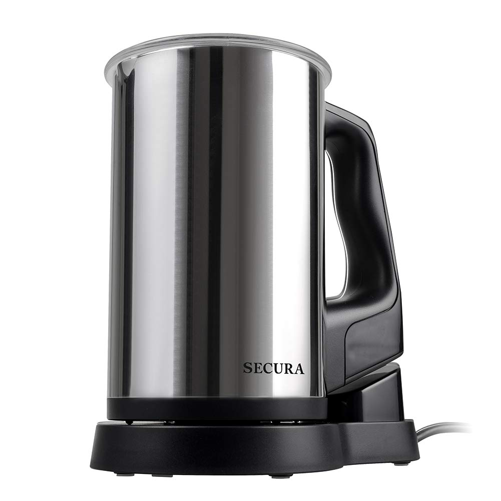 Secura Automatic Electric Milk Frother and Warmer, 8.45 oz Stainless Steel Milk Steamer by Secura (Image #3)