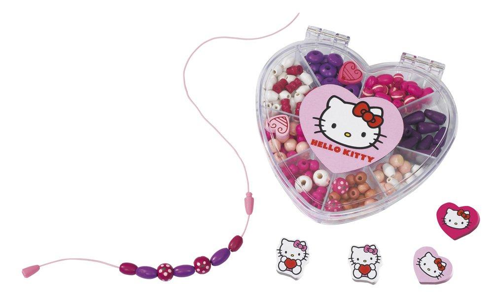 Eichhorn 100003139 - Hello Kitty Holzperlenset, 2-sort.: Amazon.de ...