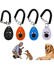 Aweekly Dog Clicker Dog Training Clicker with Wrist Strap, Pet Training Clickers with Update Graded Version