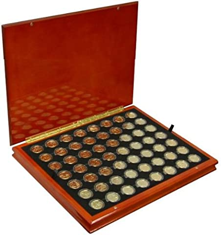 1999- 2009 Gold Plated State Quarters with Display Box - State Quarter Collection
