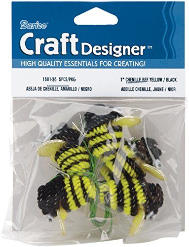 - Chenille Bees W/Wire 1