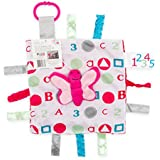 Lovey Security Baby Blanket Butterfly Sensory Tag Chewing Toy The Learning Lovey