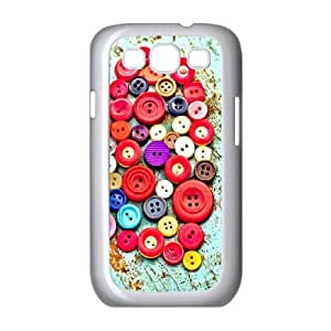 Samsung Galaxy s3 9300 White Cell Phone Case Heart Pattern LWDZLW1063 Unique Phone Case For Girls