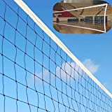 DOURR Professional Sports Volleyball Net (32 FT x 3 FT) for Indoor and Outdoor