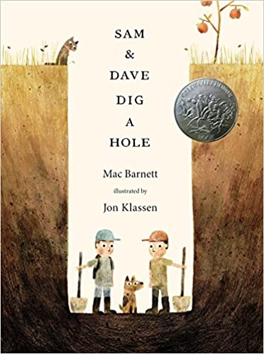 Sam and Dave Dig a Hole book cover