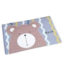 ZebraSmile Cartoon Bear Entryway Door Carpet Entryway Door Rug For Restroom Front Door Mat Home Entrance Door Carpet Indoor Carpet Entry Doormat Indoor Carpet Anti-slip Back Doormat