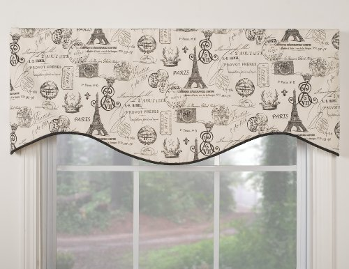 Victor Mill - Victor Mill Paris Shaped Valance