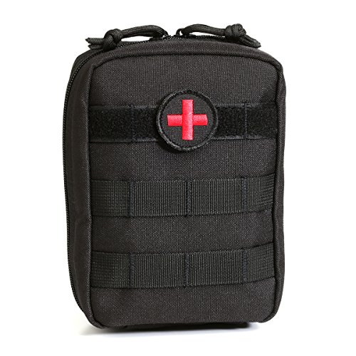 Orca Tactical MOLLE EMT Medical First Aid Pouch (Black)