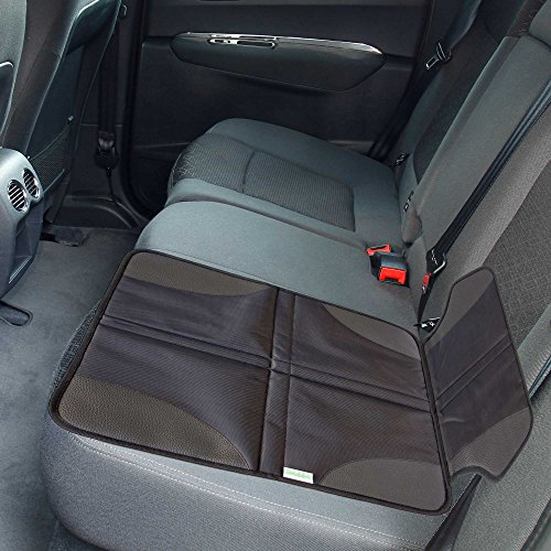 leather booster car seat - 5