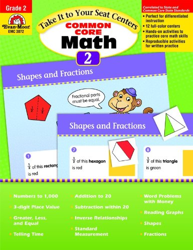 Take It to Your Seat Common Core Math Centers, Grade 2 (Take It to Your Seat Centers)