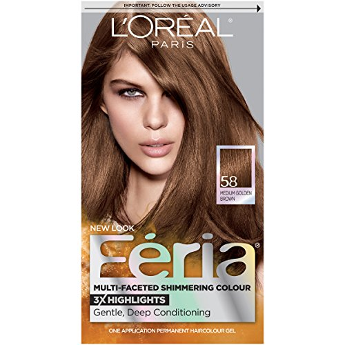 L'Oréal Paris Feria Permanent Hair Color, 58 Bronze ...