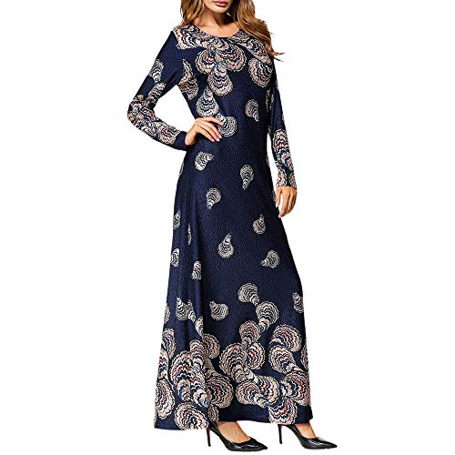 2ce0235ef2 OCEAN-STORE Muslim Fashion Women s Ethnic Style Party Dresses Maxi Dress