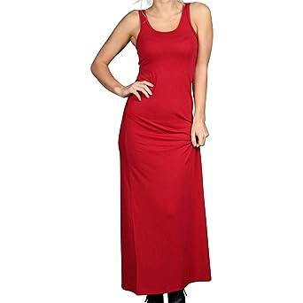 0b0343ed721 Zenana Outfitters Solid Tank Maxi Dress at Amazon Women s Clothing store