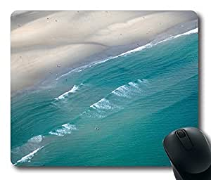 Ocean Waves Mouse Pad Desktop Laptop Mousepads Comfortable Office Mouse Pad Mat Cute Gaming Mouse Pad by icecream design