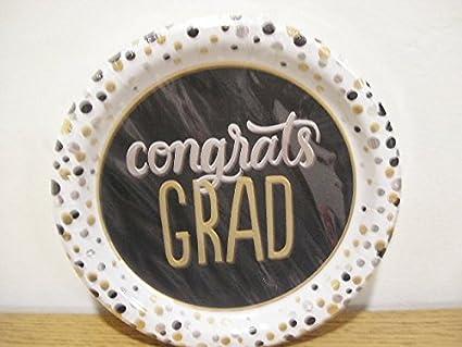 Spritz Dinner Paper Plates Graduation Party Congrats Grad & Amazon.com: Spritz Dinner Paper Plates Graduation Party Congrats ...