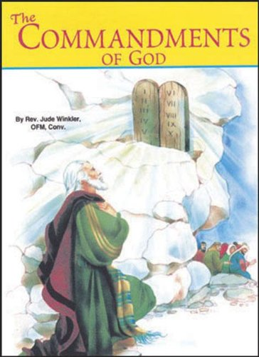 The Commandments of God (St. Joseph Picture Books (Paperback))