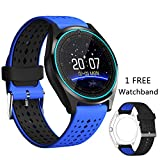 32 gb micro sd card iphone 5s - Smart Watch, DICEKOO V9 Bluetooth Smartwatch Touchscreen with Camera, Smartphones Support SIM/TF Card Insert with Health Management for Android Samsung iOS iPhone 7 Plus 6s Men Women Kids Boys (Blue)