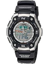 Casio Mens AQW101-1AVCF Active Dial Multi-Task Gear Sport Watch
