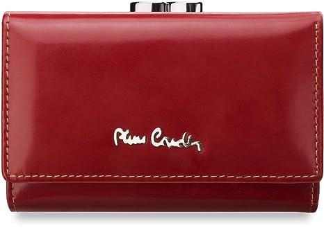 Pierre Cardin 623 - Cartera para mujer Mujer rojo rojo ...