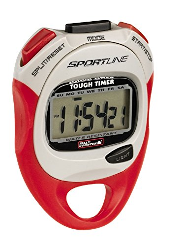Sportline 480 Tough Timer Stopwatch, Designed Weatherproof for Outdoors And Active Sport Use, Made in the U.S.A.