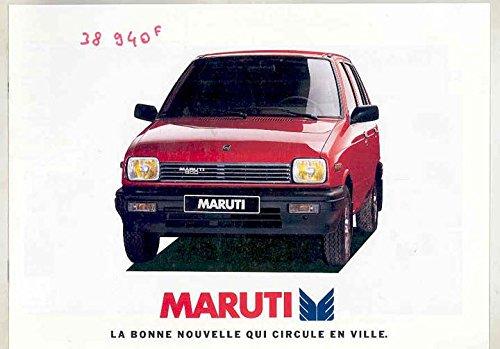 1996-maruti-800-brochure-french