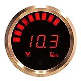 VEI Systems 10.3 Bar digital fuel pressure gauge (red/silver)